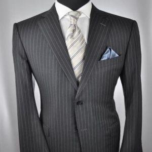ZEGNA Su Misura Dark Gray Modern 2Btn Suit